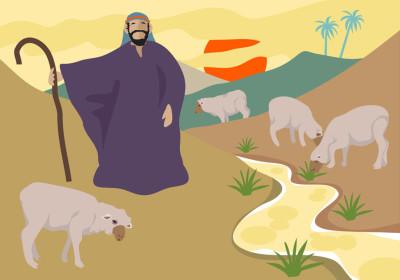 Desenhos Biblicos Para Colorir Bom Samaritano Bom Pastor E